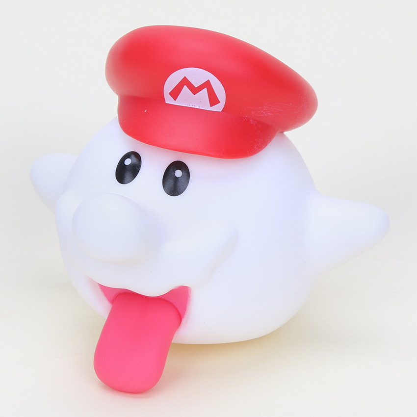 8cm Super Mario Bros Boo Ghost PVC Action Figures
