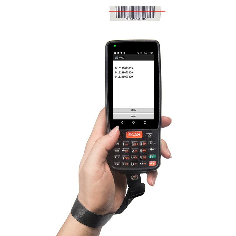 PDA Barcode Scanner Android 2D 1D NFC Wireless Bluetooth Warehouse tracking handheld PDA Scanner terminal