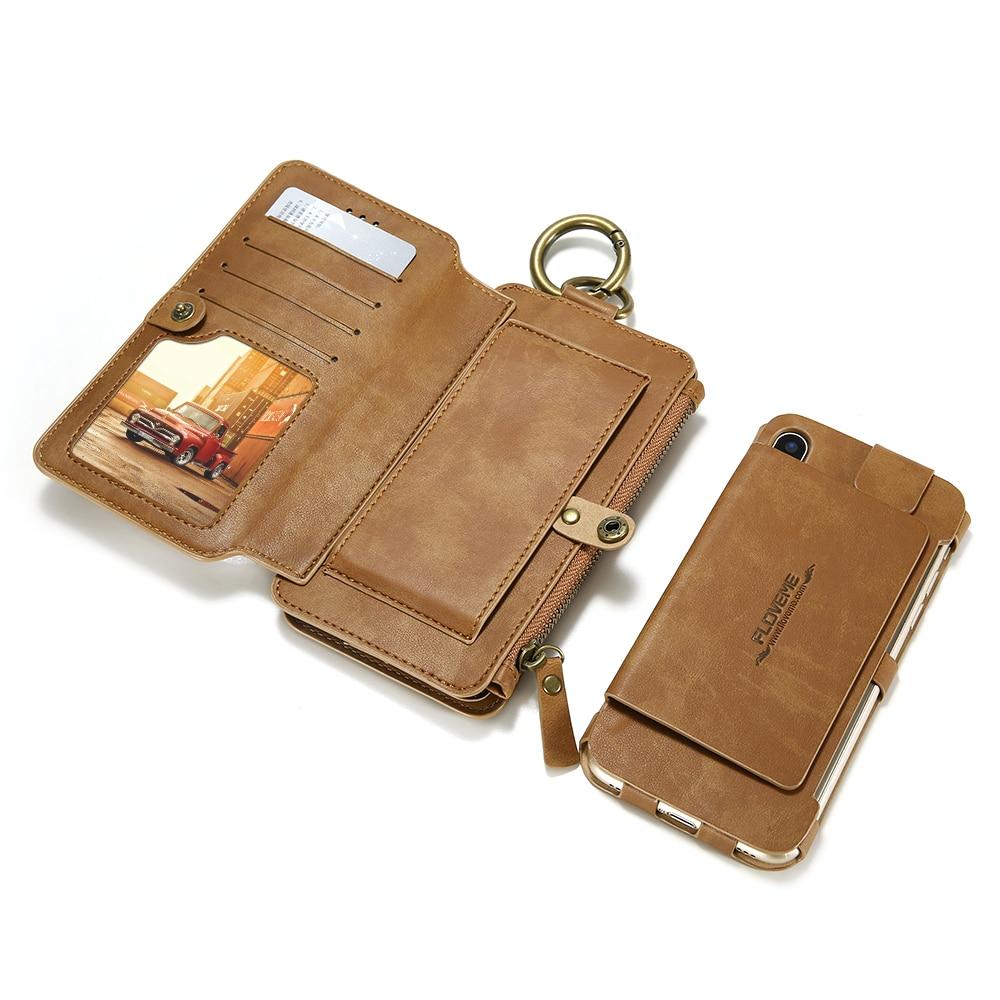 עבור apple Floveme יוקרה רטרו קלאסי ארנק Case עבור Apple iPhone 6 6S פלוס עור 5.5inch תיק Stand With ארנק נשלף Cover (2)