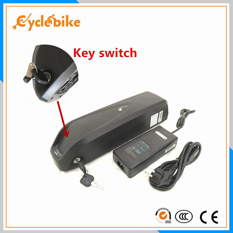 electric bicycle 48v 1000w lithium battery pack 48v 11 6ah bottle e bike battery with BMS