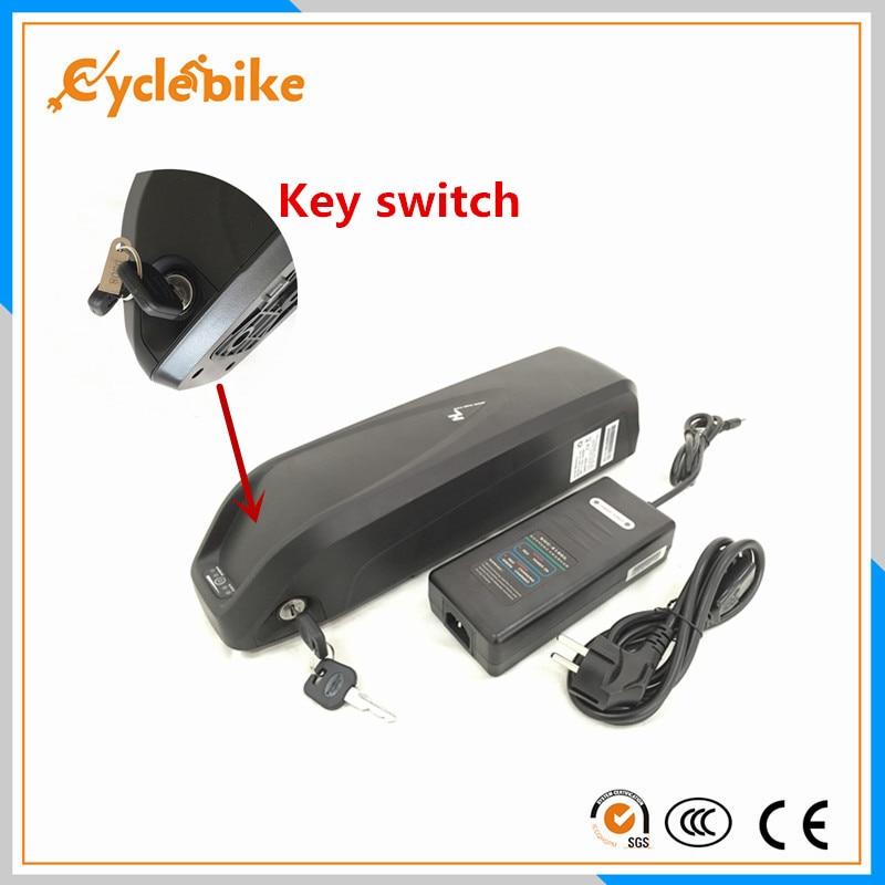 Vélo électrique 48 v 1000 w batterie au lithium 48 v 11.6ah bouteille e-bike batterie avec BMS + chargeur