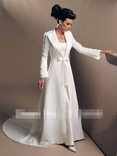 Hot-Sale-Winter-Wedding-Cloak-Long-Sleeves-Women-Cape-Mariage-Fashionable-White-Ivory-Poncho-Custom-Made