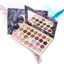 ZHENDUO 28 Colors shimmer matte glitter eyeshadow power Waterproof Long Lasting beauty Makeup Pigmented Eye shadow Palette