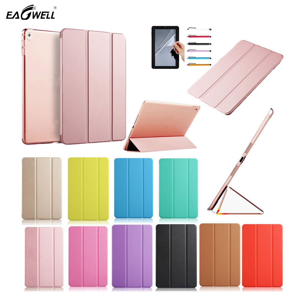 Leather Case Smart Cover For Apple iPad Pro 10.5 2017 Ultra Thin Solid Flip Stand Candy Color Cover Case Protective Funda Capa nice soft silicone back magnetic smart pu leather case for apple 2017 ipad air 1 cover new slim thin flip tpu protective case