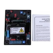 SX460-A Automatic Voltage Regulator Controller Single Phase Two-line AVR AC190-264V For Generator Spare Parts 10pcs lot intersil isl6263crz 6263crz 5 bit vid single phase voltage regulator for imvp 6 santa rosa gpu core