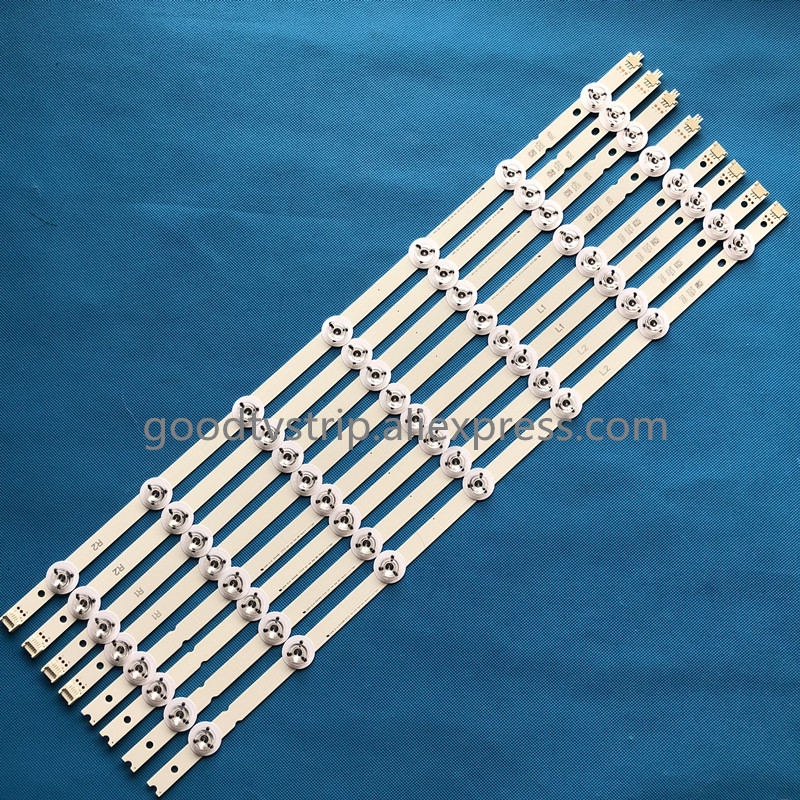 100%New Full LED backlight strips Array for LG 55 Inch TV55LB7200 LC550DUH-PGF1 55V14 Slim DRT Rev0.0 R1 L1