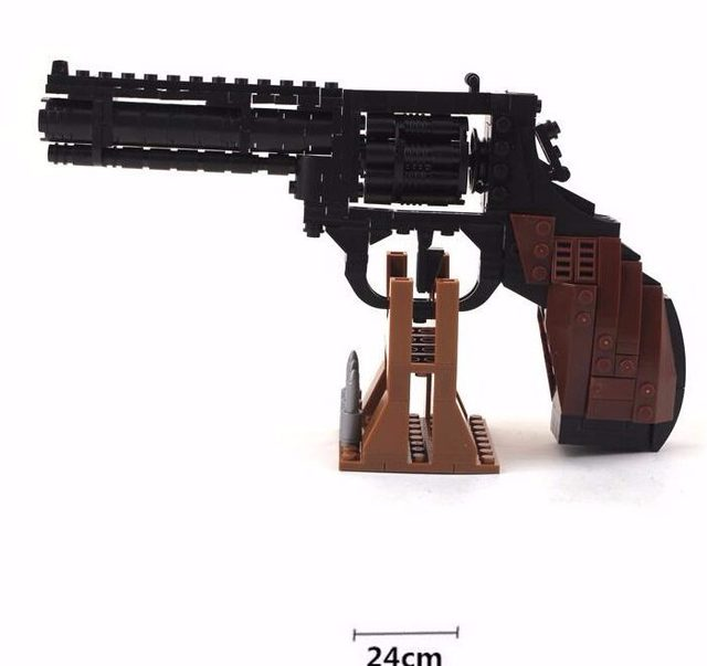 AUSINI 22514 детские Образовательные Строительные Блоки Собраны Пластиковые нерф Пистолет Пистолет orbeez Полиции QSZ92 Совместимость Legoed Игрушки