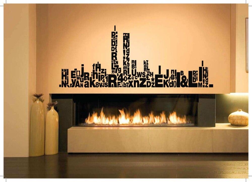 Popular New York City Skyline Wall Art Sticker Decoration Buy