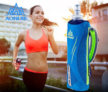AONIJIE Men Women Nylon Marathon Kettle Pack Outdoor Sports Bag Hiking Cycling Running Hand Hold Kettle Bag With Water Bottles