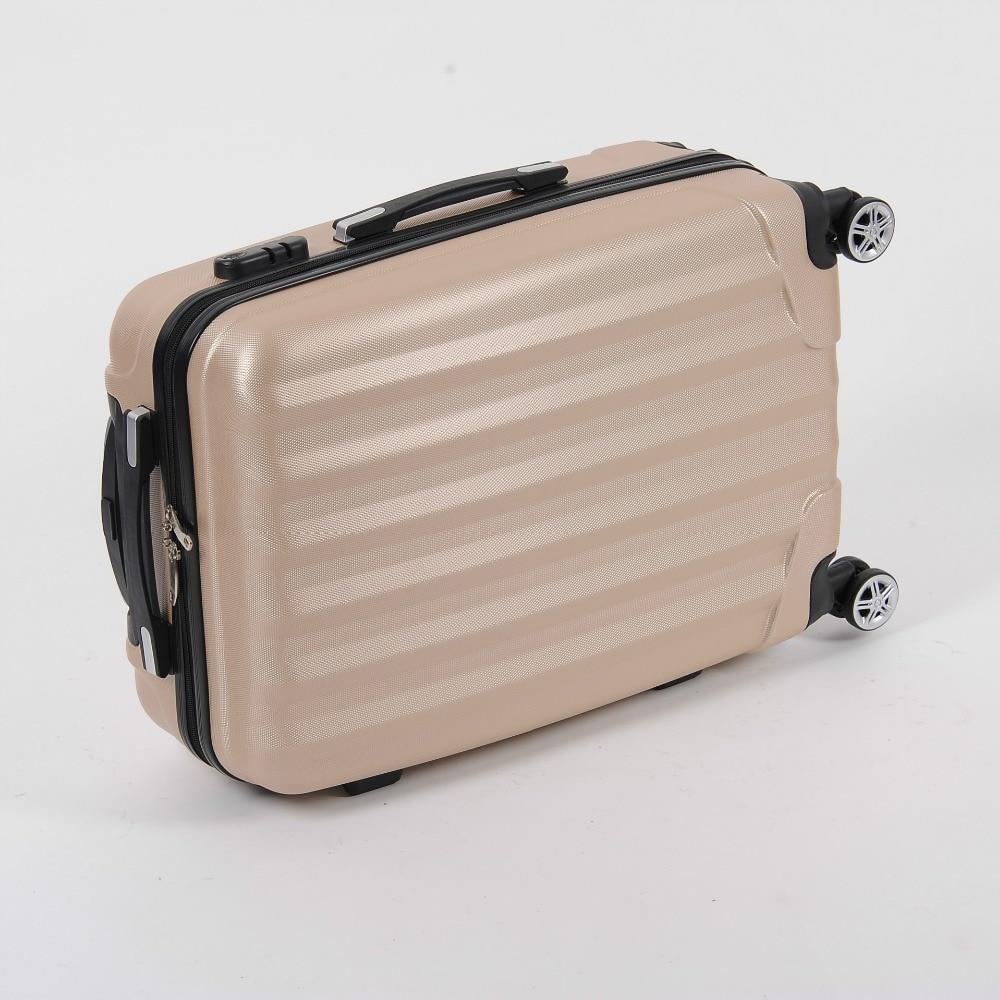 20/24/28 inch new khaki universal wheel rolling suitcase fashion ABS zipper combination lock luggage luggage 101