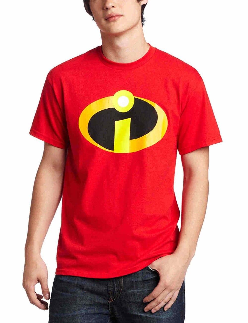 GüNstiger Verkauf 2018 T Shirt S Crew Neck 2018 Incredibles Herren Kostüm T Hemd Hohe Qualität Casual Kleidung Kurze T Shirt Herausragende Eigenschaften