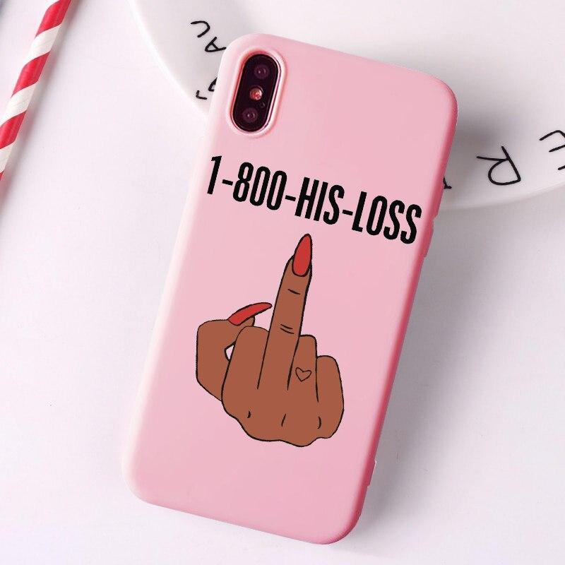 Сделай деньги наличные черная голова девушка чехол для телефона Fundas для iPhone 11 Pro Max X XR XS 8 7 6s Plus матовый карамельный розовый Силиконовый чехол s
