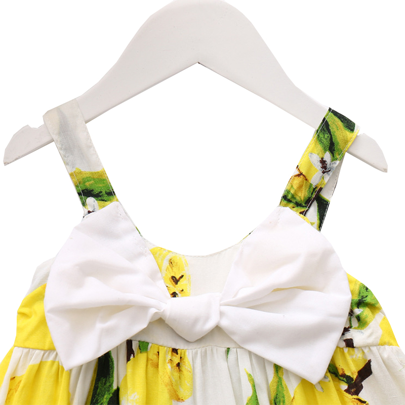 3628b228a Amyababy Baby Girls Summer Dress Print Mango Strap Dress For Newborn Baby  Girl Clothes Princess Dresses Toddler Kids Clothing-in Dresses from Mother  & Kids ...