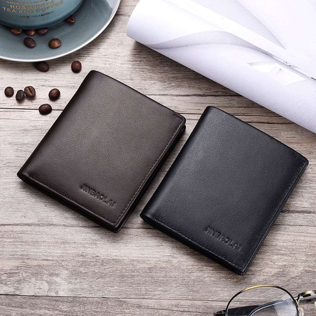 Wallet Card-Holder Business Cowhide Men Xin1 Multi-Function First-Layer New-Arrival