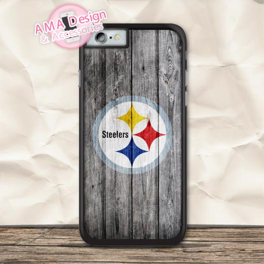 Pittsburgh Steelers American Football Case For iPhone X 8 7 6 6s Plus 5 5s SE 5c 4 4s For iPod Touch