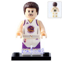 DR TONG 20PCS LOT WM444 Stephen Curry American Professional Basketball Player Action Figures Building Blocks Bricks