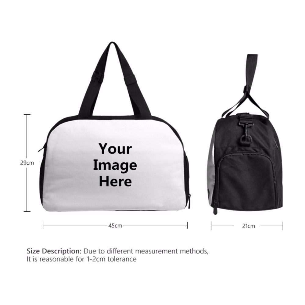 fa71241a5859 Aliexpress.com   Buy FORUDESIGNS Setting Sun Designer Student Carry on Luggage  Bag Women Weekender Bag Female Travel Duffel Bag with Shoe Pocket from ...