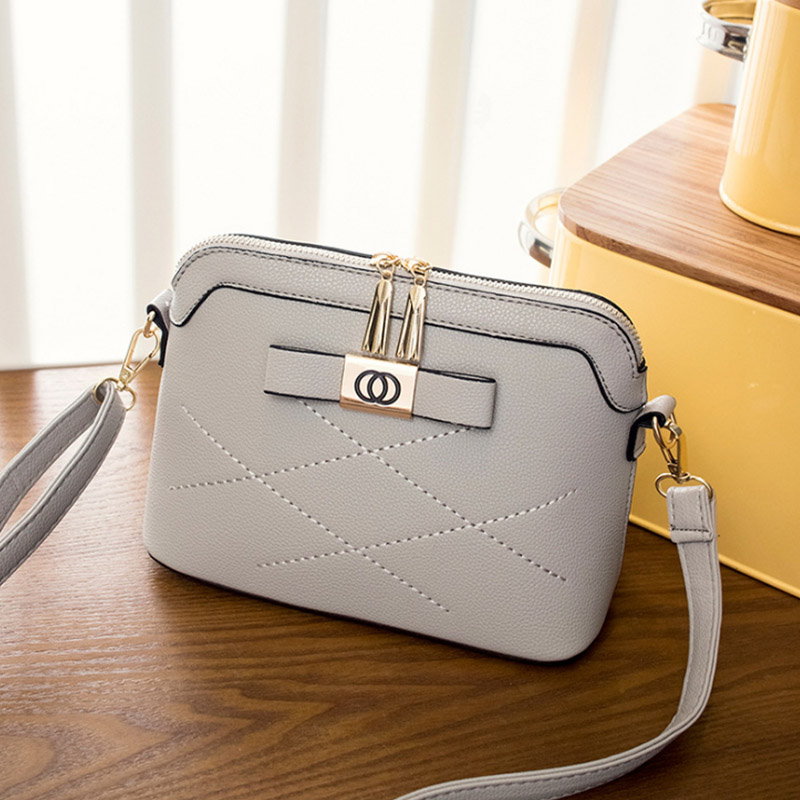 Fashion Shell Style Women Crossbody Bags High Quality PU Leather Women Messenger Bags Ladies Small Shell Shoulder Messenger Bag