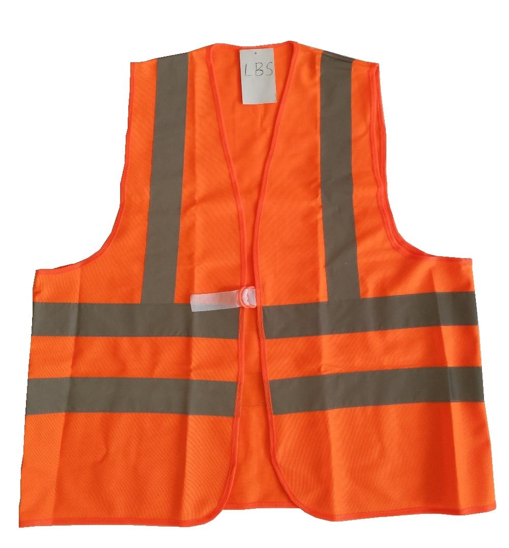 Reflective Vest Safety Knitted fabric Vest Hi-vis Reflective Tape 2H2V jiade two tone hi vis safety vest reflective