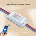 2016 Nuevo Popular Sonoff-Inteligente WiFi Inalámbrico Inteligente BRICOLAJE interruptor de 433 Mhz rf Para MQTT COAP Android IOS Wifi Remoto Control