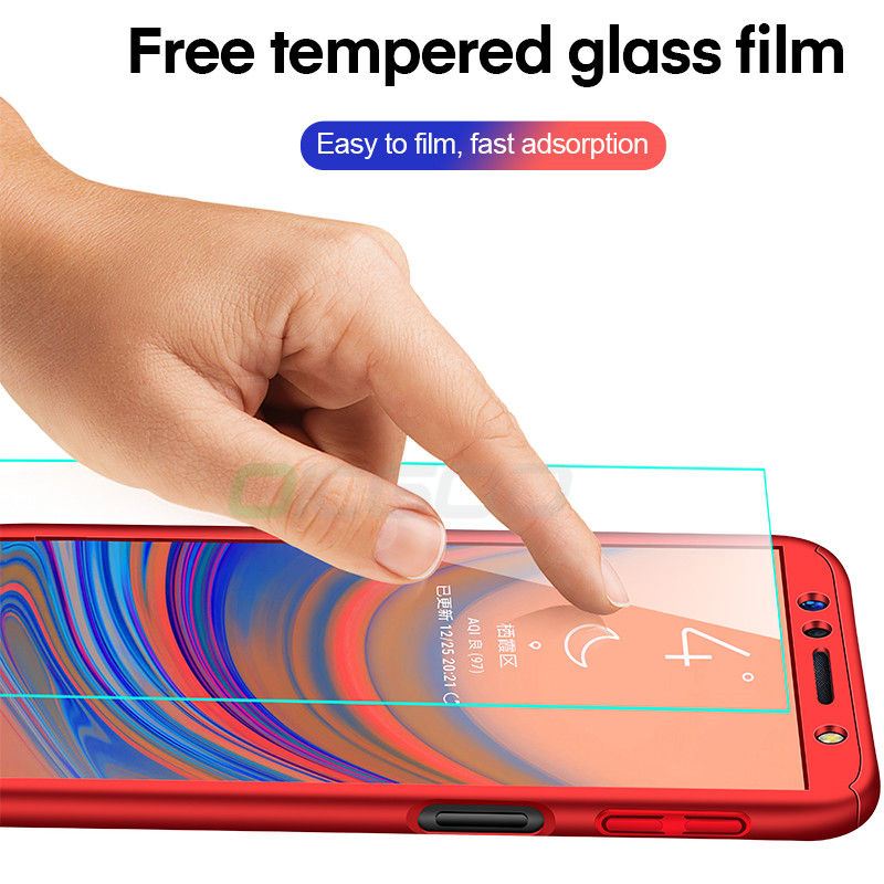 360 Full Body Protective Case For Samsung Galaxy A50 A70 A40 A30 A60 A10 A20 M20 M30 M10 J4 J6 A6 A8 Plus A7 A9 2018 Cases Cover