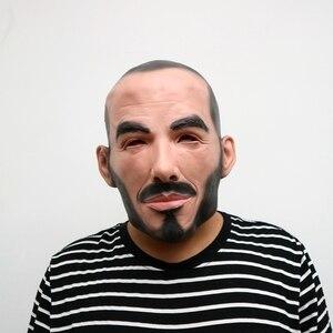 Image 2 - Realistische Party Cosplay Beroemde Persoon Man David Beckham Gezicht Maskers Latex Real Menselijk Gezicht Cosplay Masker Cool Event Masker Grappig