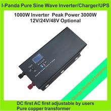 1000W 1KW Power inverter charger Peak power 3000W Trucks Boat RV CRV ship pump inverter