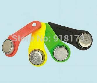 20pcs/lot 1990A-F5 TM card touch memory dallas ibutton key handle For guard tour system sauna lock card