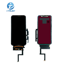 10pcs for Iphone XR lcd display OEM with Digitixer replacement assembly 45° edge angle black screen for iphone XR Touch Screen