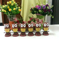 Wholesale Price 20 Pieces Per lot Swing Under Full Light No Battery Novelty Solar  Toys Happy Dancing Solar Powered Owls