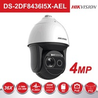 Hikvision Smart Tracking Laser Speed Dome Camera DS 2DF8436I5X AE 4 Megapixel 36X Optical Zoom 500m IR Speed Dome PTZ IP Cameras