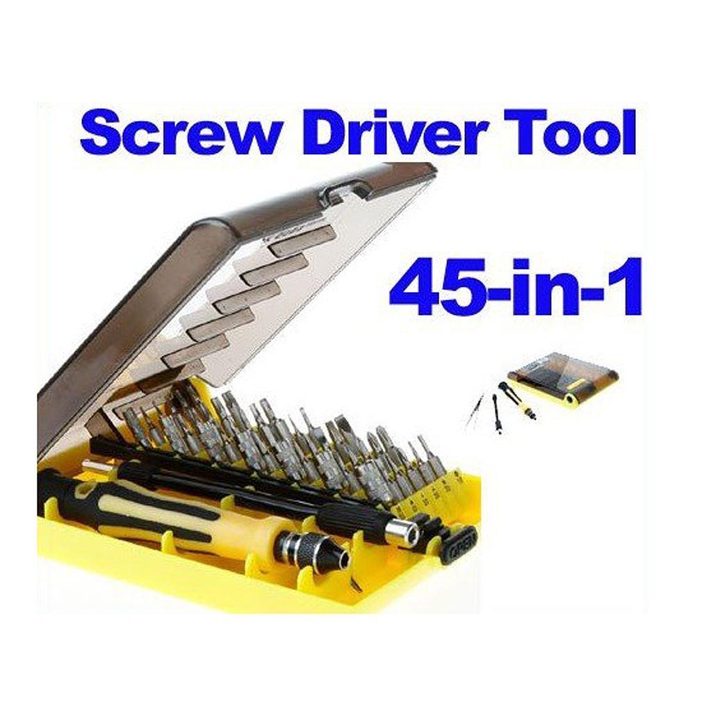 FDDT- 45-in-1 Professional Hardware Screw Driver Tool Kit JK-6089B by manufacture seller jk by jacky time jk by jacky time jk001dwilz04