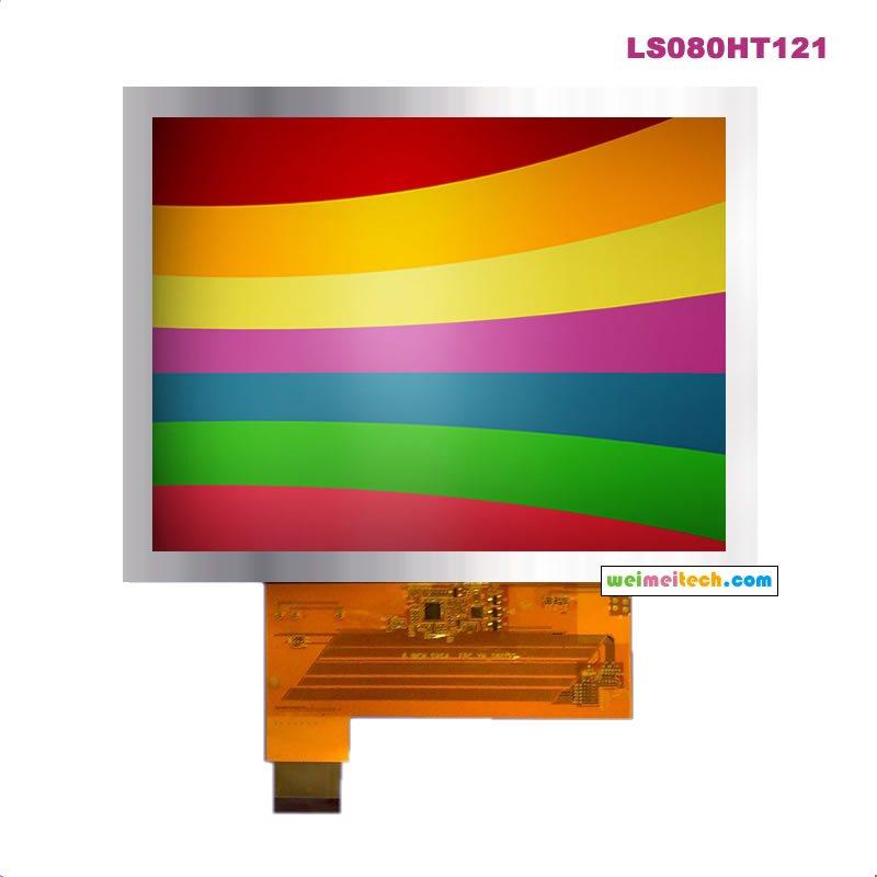 CMO 40PIN8 inch LCD screen (digital screen) LS080HT111 40PIN industrial control display industrial display lcd screen original 15 inch lq150x1lw71u