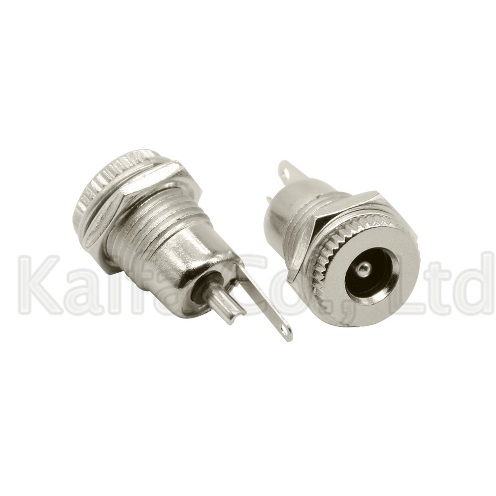 DC-099 5.5 Mm X 2.1mm 5.5 Mm X 2.5mm 5A 30V DC Power Jack Socket Female Panel Mount Connector 5.5*2.1 5.5*2.5 Open Hole 11MM