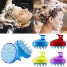 Multi funzione Spa Dimagrante Massaggio Con Spazzola Del Silicone Testa di Massaggio Del Cuoio Capelluto di Lavaggio Pettine Shampoo Spazzola Da Bagno Doccia