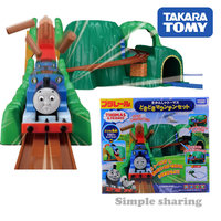 Takara Tomy tomica Plarail Trackmaster Pounding Mountain Set Tracking train model kit diecast hot baby toys educational dolls