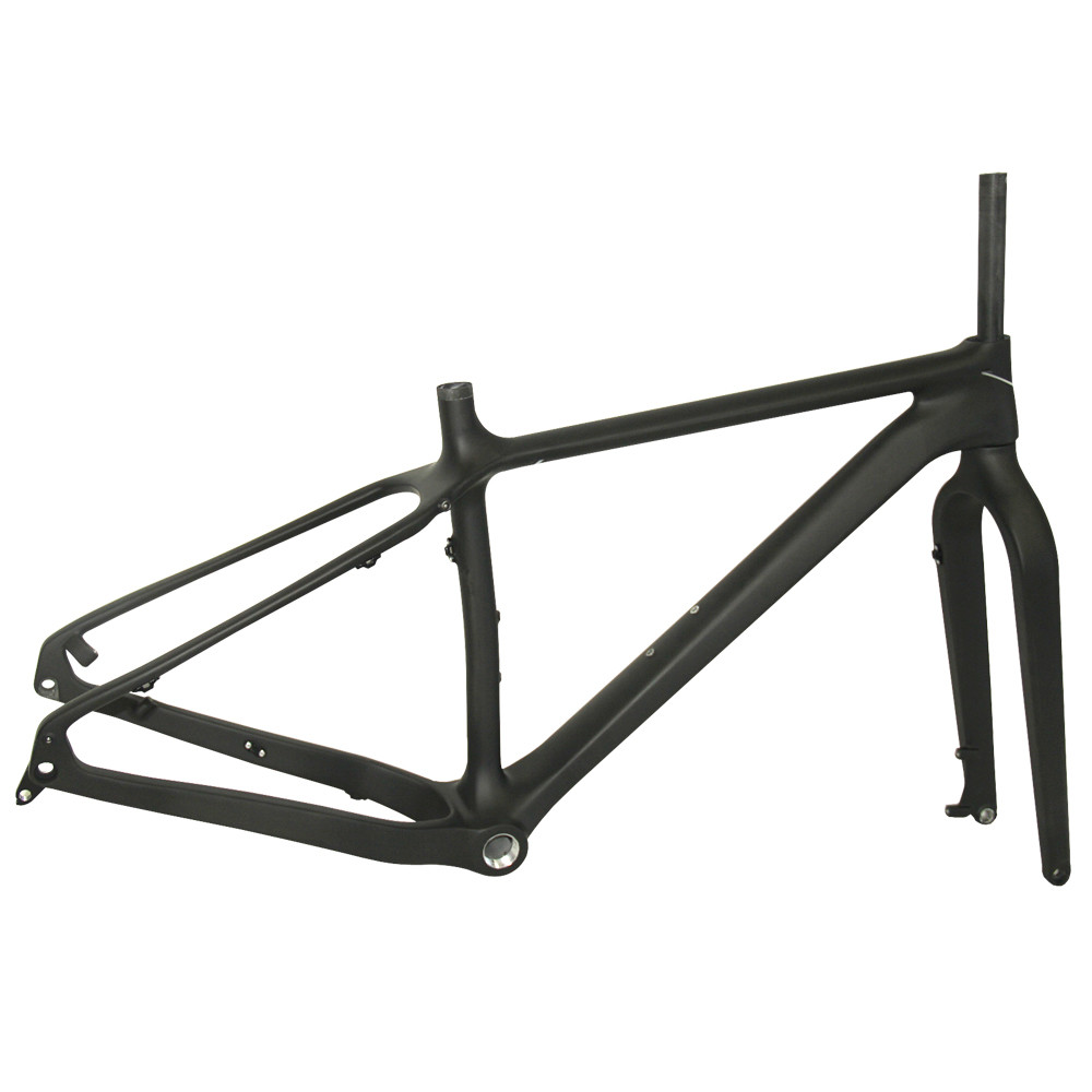2016 Newest Fat bike Carbon Frame with OEM painting ,Full Carbon Snow Bike Frame 26er Carbon Fat  Frame