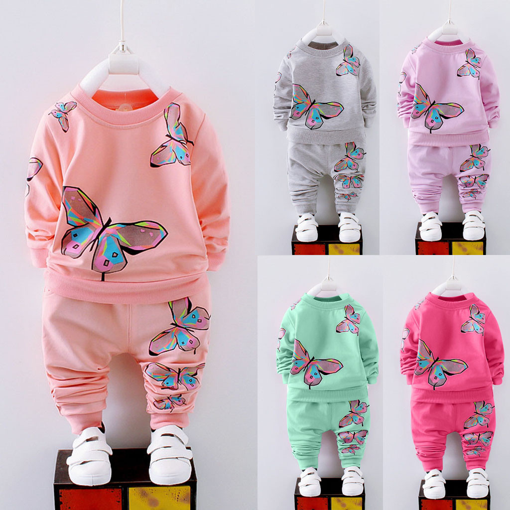 Outfit Kids Costume T-Shirt Pants Tracksuit Fortnight Baby-Girl Long-Sleeve Printed title=