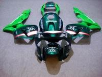 Motorcycle Fairing kit for HONDA CBR600RR F5 03 04 CBR 600RR 2003 2004 cbr600rr ABS Fashion green Fairings set