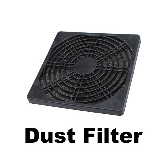 12 Cm Enfriador De Ordenador Filtro De Polvo A Prueba De Polvo Filtro De Polvo Para El Ordenador Portátil Y Tener Una Larga Vida.