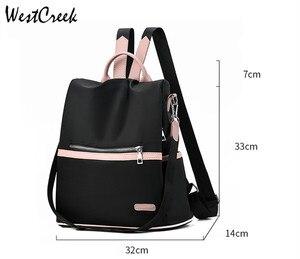 Image 5 - Женский рюкзак Антивор из ткани «Оксфорд»