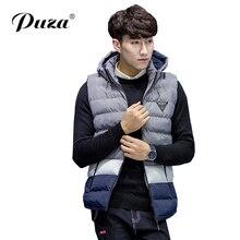 2017 New Fashion Men'Vest Winter Casual Style Men's Vest Clothing Male Slim Sleeveless Jacket Mens Windproof Warm Waistcoat