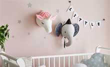 EDC Cute Unicorn Lucky Hanging wall Christmas Doll Plush Stuffed Sleeping Baby Child Toy Gift pillow