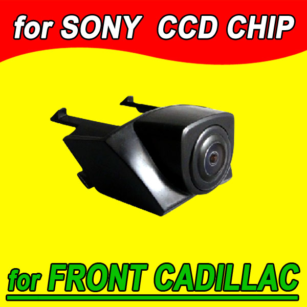 Color Ccd Vehicle Logo Front View Camera For Cadillac Srx 2012 Ntsc Pal ( Optional)