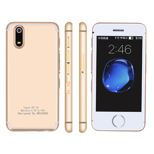 Image 1 - MELROSE S9X Flagship Ultra thin Mobile Phone Mini Personality Student Pocket Smartphone