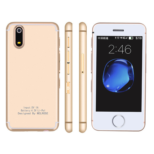 MELROSE S9X Flagship Ultra thin Mobile Phone Mini Personality Student Pocket Smartphone