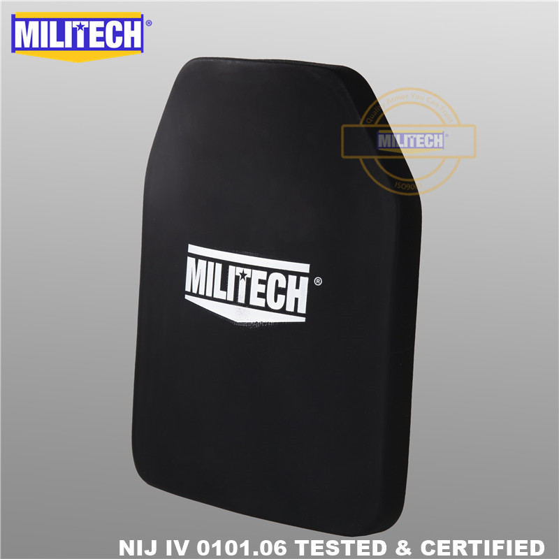 MILITECH 알루미나 및 PE NIJ IV 방탄 플레이트 Al2O3 산화 - 보안 및 보호 - 사진 4