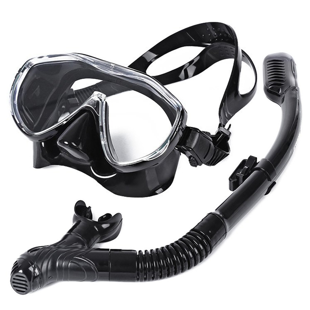 BALEINE Sûr Professionnel Plongée sous-marine Masque de Silicone Masque Tuba Durable Résistant À L'usure Plongée Masques Set Soft Confortable Masque