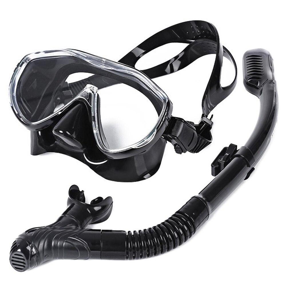 WHALE Sicher Professionellen Tauchmaske Silikon Maske Schnorchel Durable Verschleißfesten Tauchen Masken Set Weiche Bequeme Maske
