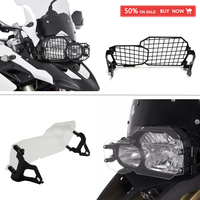 Headlight Cover Guard Protector fit For BMW F800 GS F 800 GS F700 GS F650 GS Twin Headlight Guard Clear 2008 2018 after market